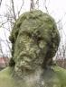 Rekonstrukce obličeje sv. Jana Křtitele - před obn
