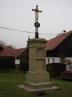 Restaurování křížku v obci Bezdědice - po obnově