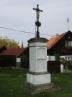 Restaurování křížku v obci Bezdědice - před obnovo