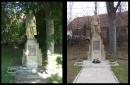 Restaurování Pomníku padlým v obci Džbánov