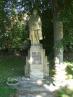 Restaurování Pomníku padlým v obci Džbánov - před