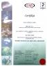 BVS HK cert ISO 9001 CZ