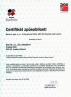 Certifikat BAUMIT