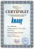 certifikát KNAUF - new
