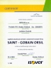 Certifikat ORSIL ISOVER